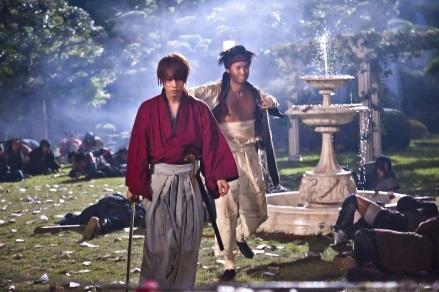 Kenshin y Sanosuke