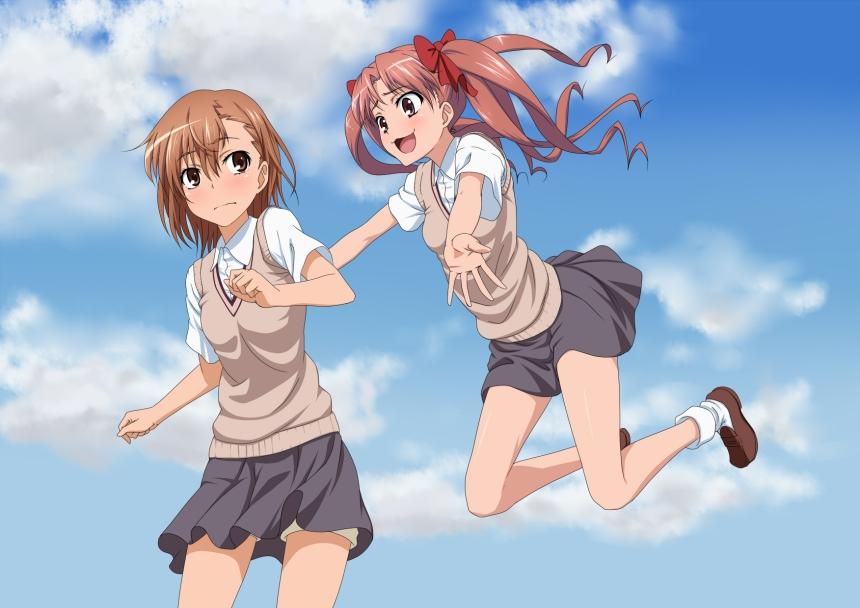 La persona atrás de Misaka no es Kuroko, soy yo xDD