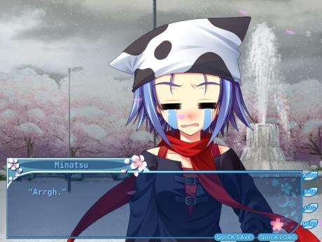 Minatsu llora